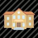 architecture, building, college, home, school icon