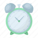 alarm, clock, rise, time, watch icon