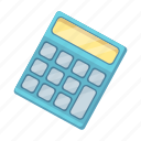 calculator, device, electronics, math, school icon