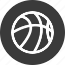 atheltics, ball, basketball, online, sports icon