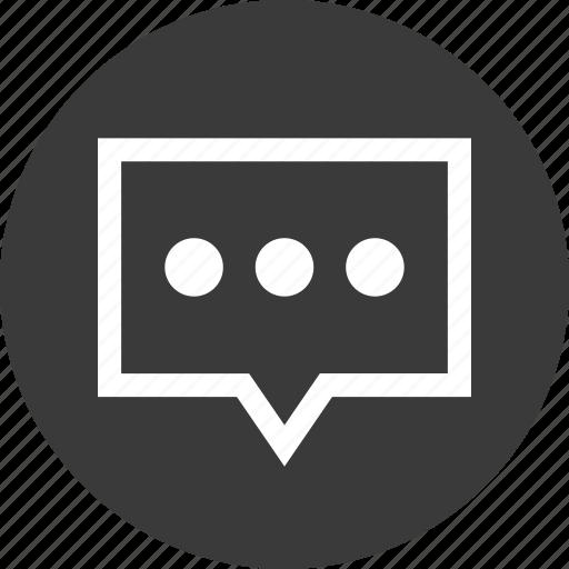 Chat, conversation, message, online, talk, text icon - Download on Iconfinder