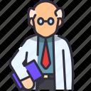 lecturer, professor, school, teacher icon