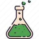 chemical, chemistry, experiment, lab, school, science, tube icon