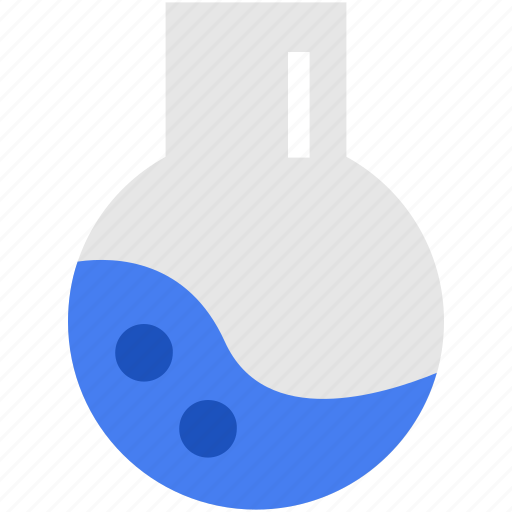 chemical, chemistry, education, flat, formula icon