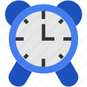 clock, date, education, flat, schedule, time icon