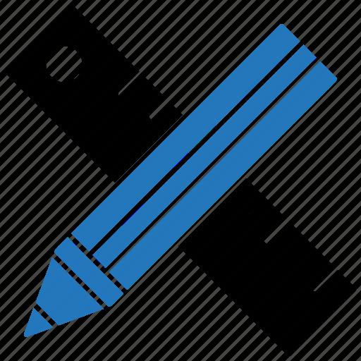 measurement, measuring, ruler, school, tools icon