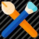 art, brush, design, draw, paint, painting, tool