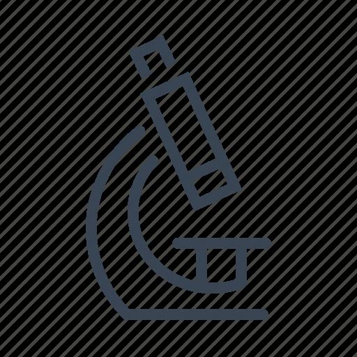 biology, laboratory, microscope, school, science icon