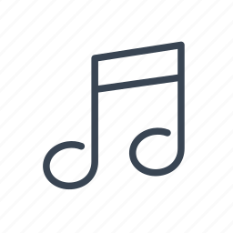 lesson, music, musical, note icon