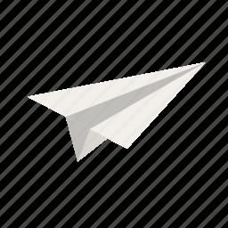 paper, plane, school, travel icon