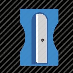 office, pencil, school, sharpener icon