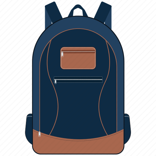 backpack, school bag, travel bag icon
