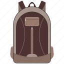 bag, education, school, school bag, study, study bag icon