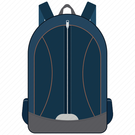 backpack, bag, books bag, rucksack, school bag icon