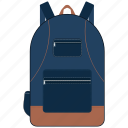 bag, education, school, school bag, study icon