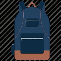 bag, education, school, school bag, study icon