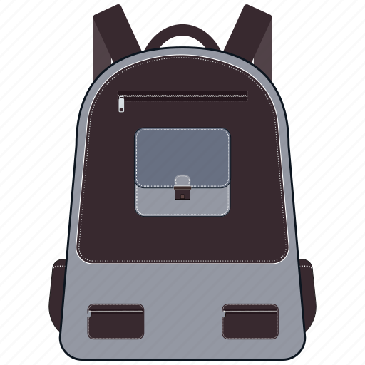 backpack, bag, education, school, school bag icon