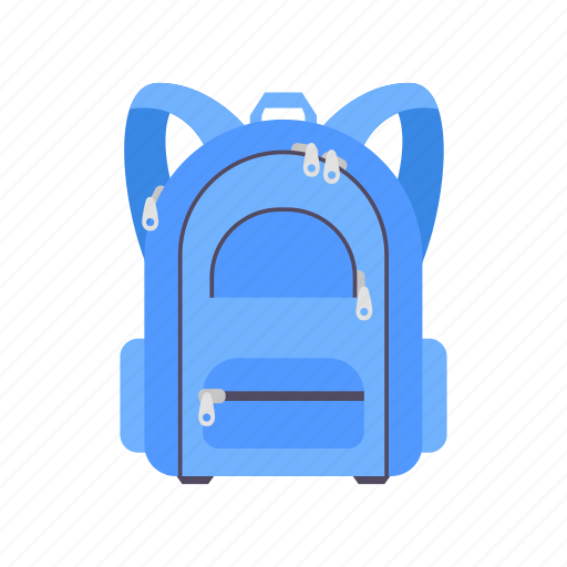 backpack, bag, education, learning, school, sport, travel icon
