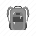 backpack, bag, school, sport, transportation, travel icon