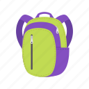 backpack, bag, education, learning, school, sport, travel