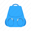 backpack, bag, education, school, sport, travel, vacation icon