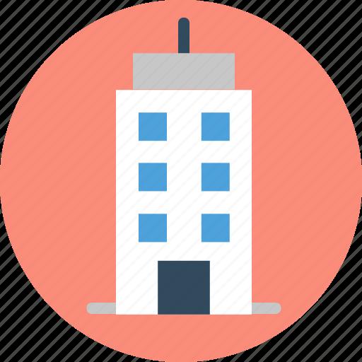 building, historic building, library, museum, skyscraper icon