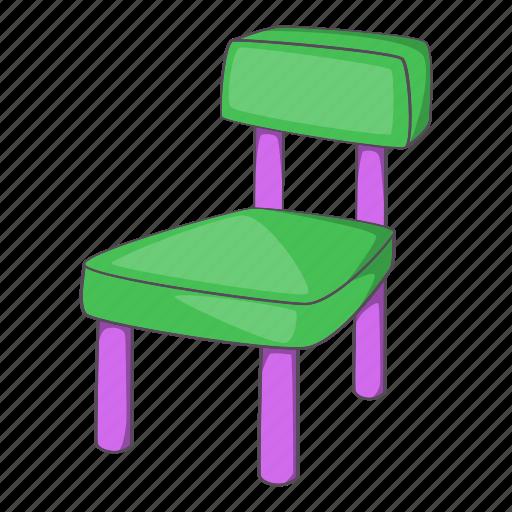 Cartoon, chair, design, furniture, home, kid, pink icon - Download on Iconfinder