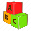 cartoon, cube, education, game, letter, play, toy