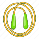 cartoon, design, fitness, game, image, long, rope icon