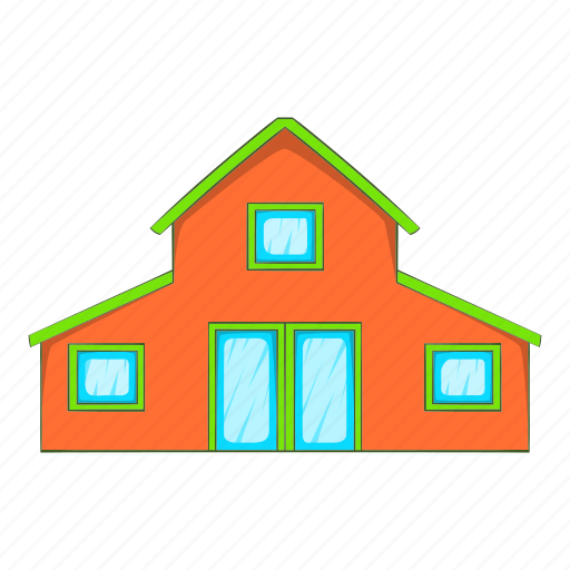 Building, cartoon, door, home, house, toy, window icon - Download on Iconfinder
