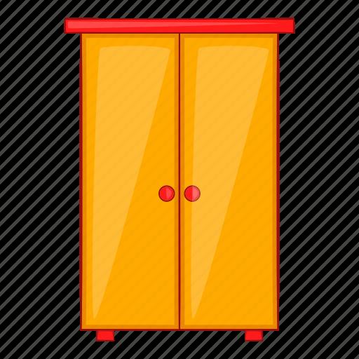 Cartoon, cupboard, design, furniture, interior, wardrobe icon - Download on Iconfinder