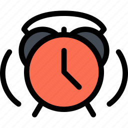 alarm, child, childhood, clock, learning, school, university icon