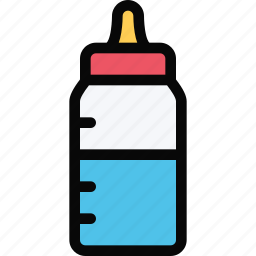 baby, bottle, child, childhood, learning, school, university icon