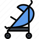 baby, carriage, child, childhood, learning, school, university icon
