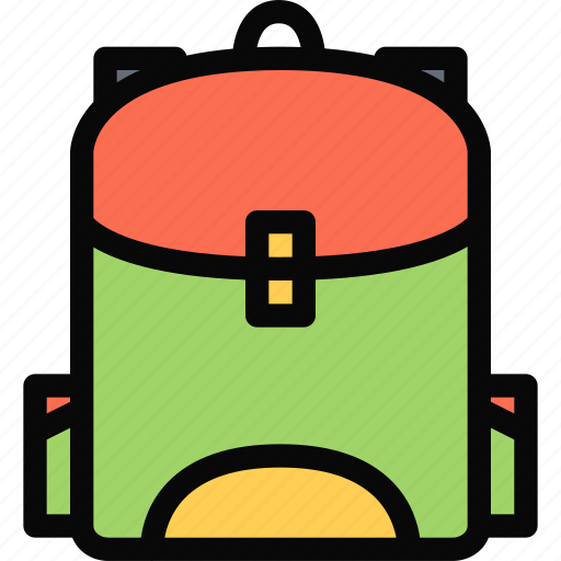 backpack, child, childhood, learning, school, university icon