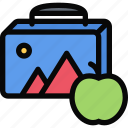 box, child, childhood, launch, learning, school, university icon