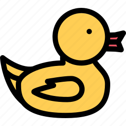 child, childhood, duck, learning, rubber, school, university icon