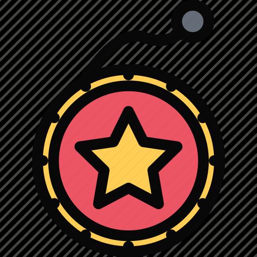 child, childhood, learning, school, university, yo yo icon
