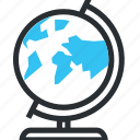 earth, geography, globe, learn, round icon