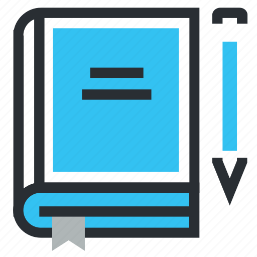 book, books, learn, note, notes, read, write icon