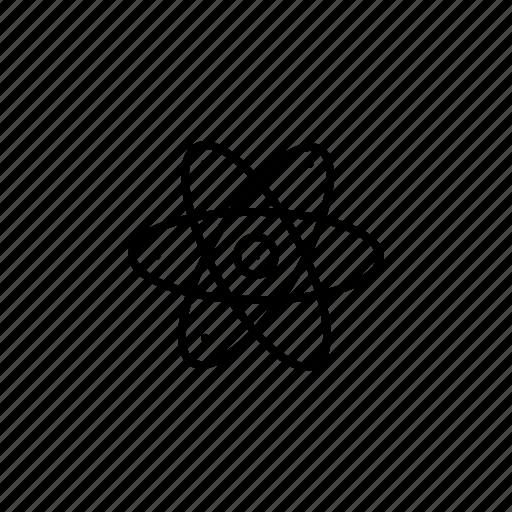 atomic, biology, medicine, molecular, molecule, physics icon