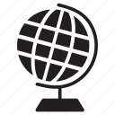 earth, globe, globe map, map, navigation, world icon icon