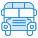 bus, school, school bus, vehicle icon icon