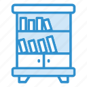 book, books, shelf, shelf icon icon