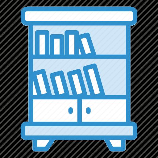 book, books, shelf, shelf icon icon