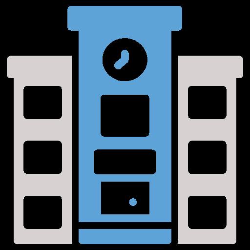 building, college, education, school icon icon
