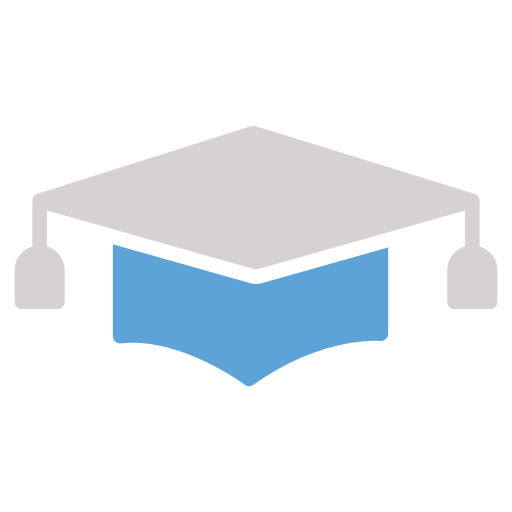 cd, degree, graduation hat icon icon