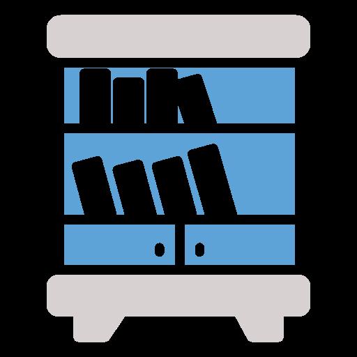 book, shelf icon icon