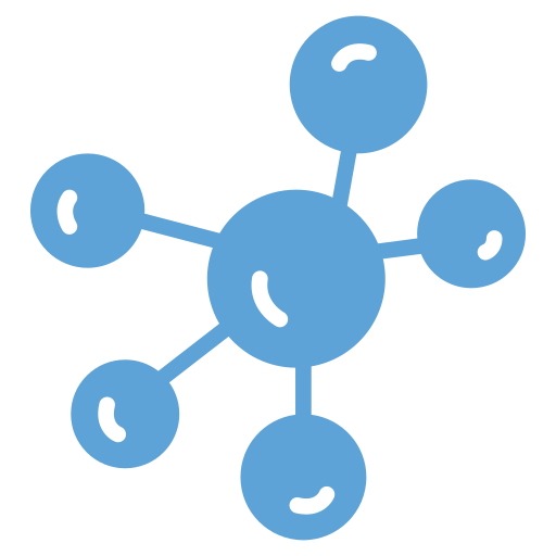 chemical links, connection, connections, link scheme, molecule, network, web icon icon