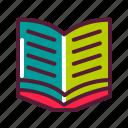 album, book, brochure, education, magazine, plasticons, reading